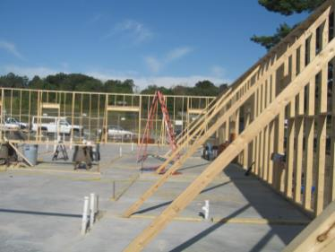 Commercial Office Building initial framing