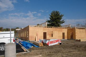 Commercial Office Building exterior walls