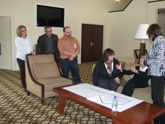 Emerson Resort planning meeting