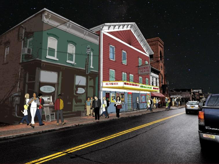 Rosendale Theatre Project rendering