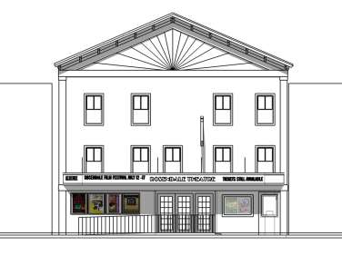 Rosendale Theatre Project elevation