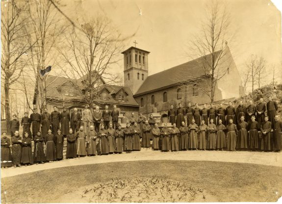 St. Francis Friary Historic Photo