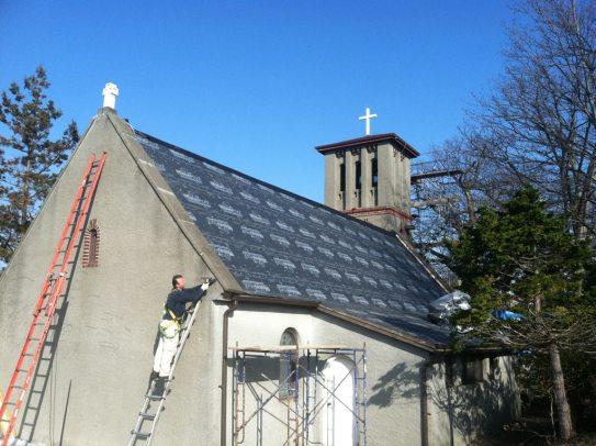 St Francis Friary Roof Construction