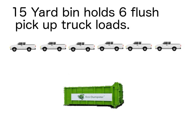 15 yarder holds 6 trucks