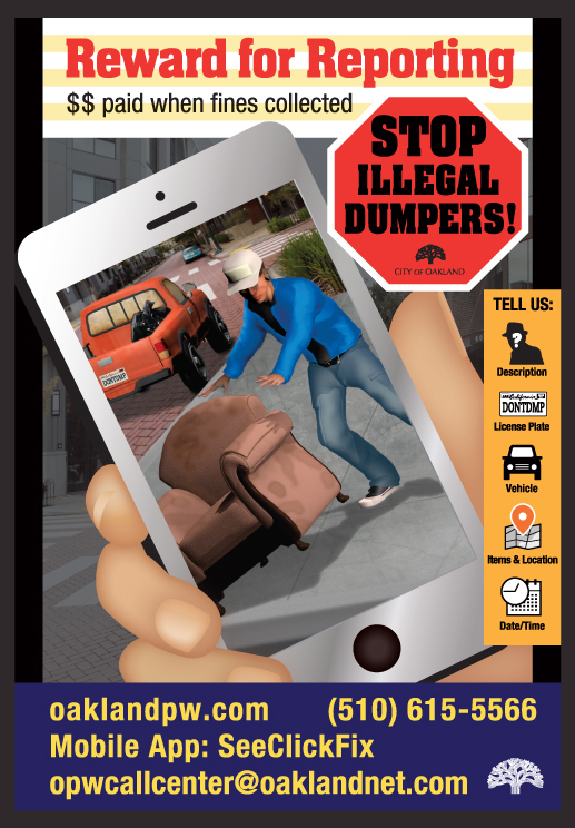 Resource for illegal dumping
