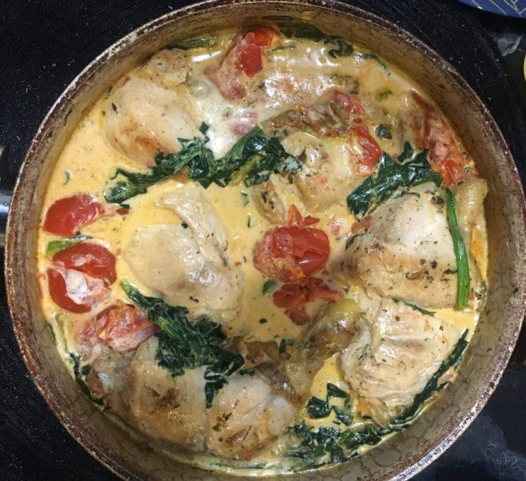 chicken tuscan