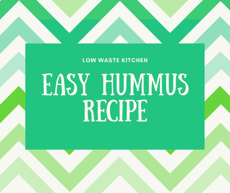 Recipe: Easy Homemade Hummus