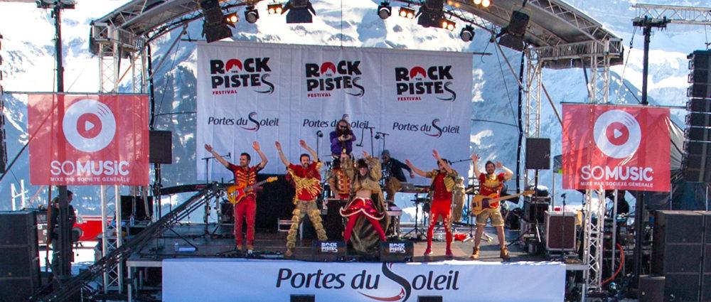 Événementiel : 8ème festival « Rock The Pistes »