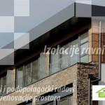 Hidroizolacije ravnih krovova u Zagrebu i okolici, hidroizolacija PVC i TPO membranom, bitumenom, katranom, sanacije krovišta, zeleni krovovi, termoizolacije, adaptacije i obnove fasada kuća i zgrada, kompletni građevinski limarski radovi, podopolagački radovi, precizni keramičarski radovi, unutarnje i vanjsko strojno žbukanje, izravnavanje podova, sušenje glazura, garancija na adaptacijske i ostale radove, odvoz građevinskog otpada u Zagrebu i okolici - Edasa Bašić