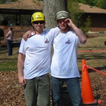 Ethan D'Angelo (left)and Luke Longstreeth