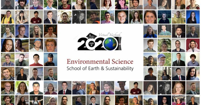 Congratulations to the Environmental Science 2020 Graduating Class!