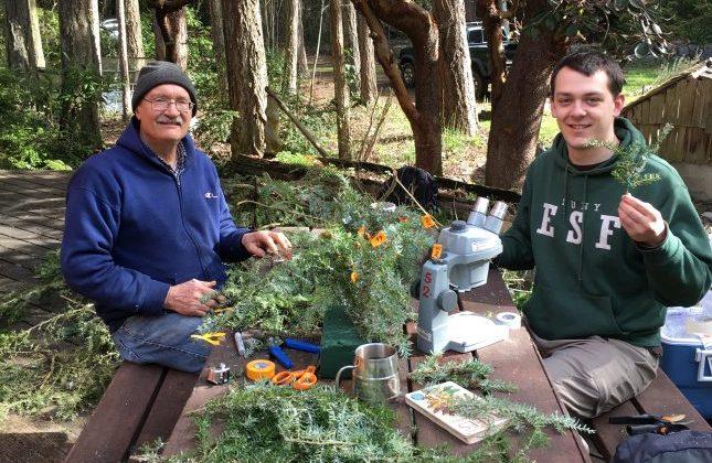 Dr. Joe Elkinton receives prestigious International Society of Arboriculture Award