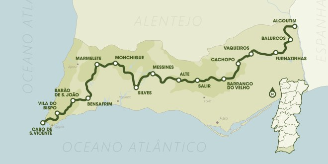 nature tourism walking trails in Portugal