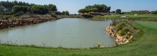 Palmares - lagoa principal de recuperação de água