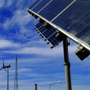 solar e vento