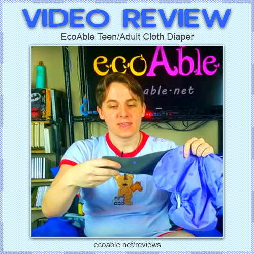 Zac Has Multiple Adult Diaper Video Reviews Where He Gives A Rating Based On Diaper Features