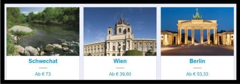 Newsletter-Anzeige von booking.com