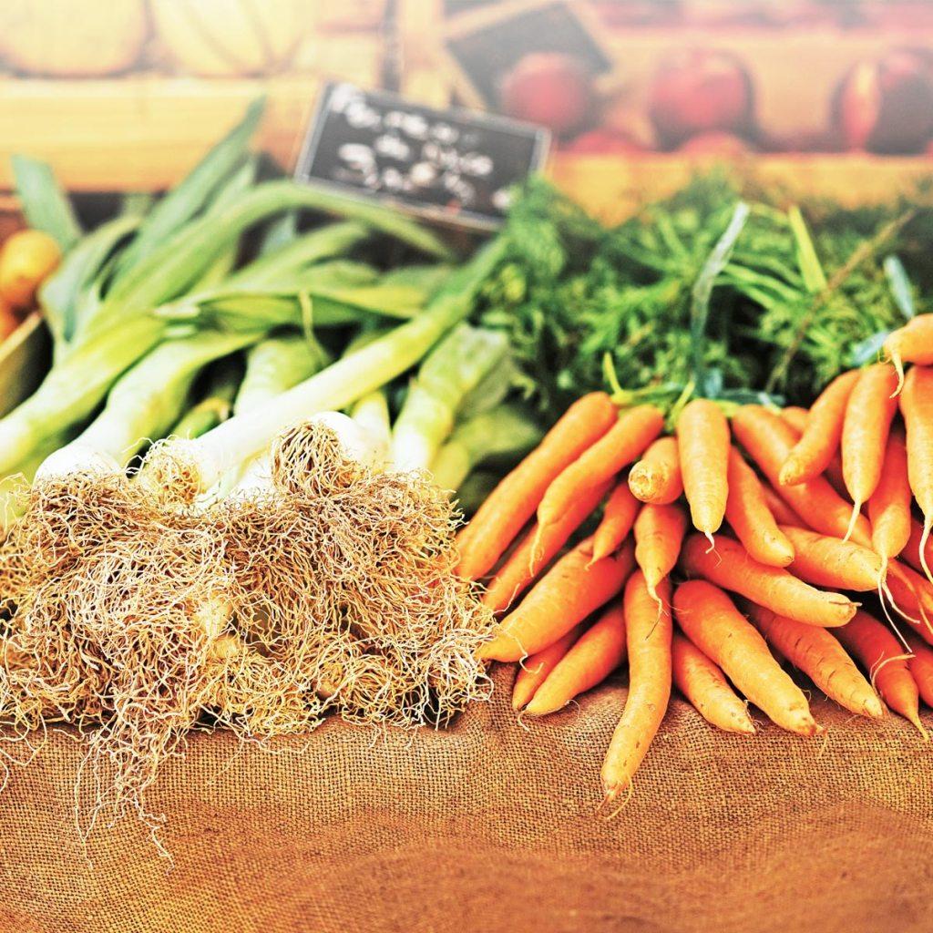 Вживайте екологічні продукти, морква і цибуля
