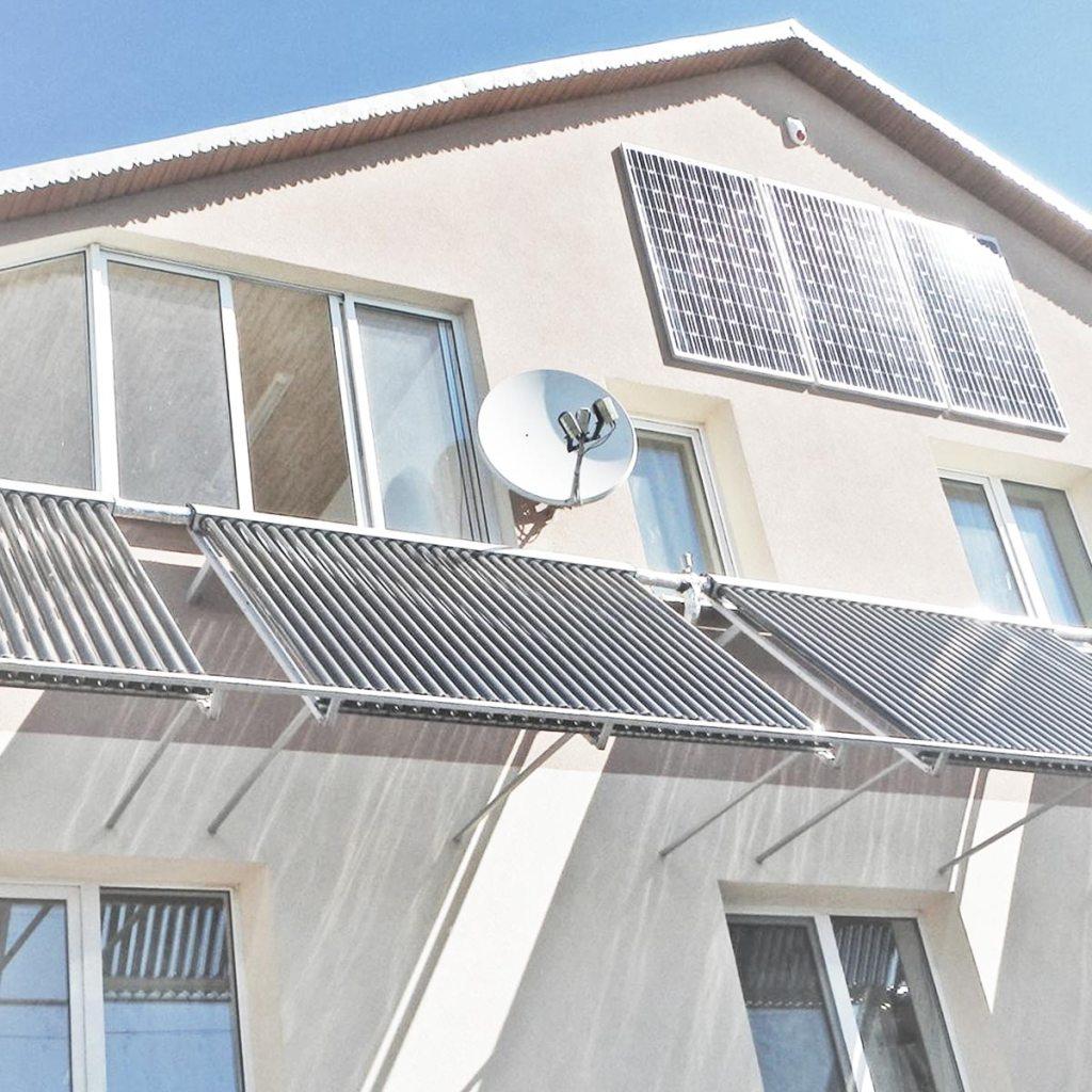 """Споживайте власну """"зелену"""" енергію, сонячні панелі, колектори"""