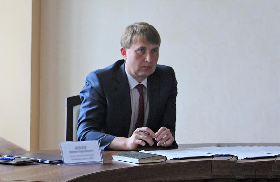 Мирноградський міський голова Олександр Брикалов