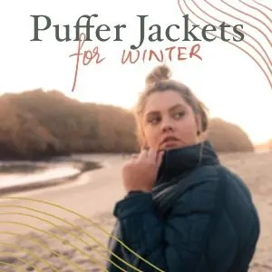 cruelty-free Puffer jackets for winter