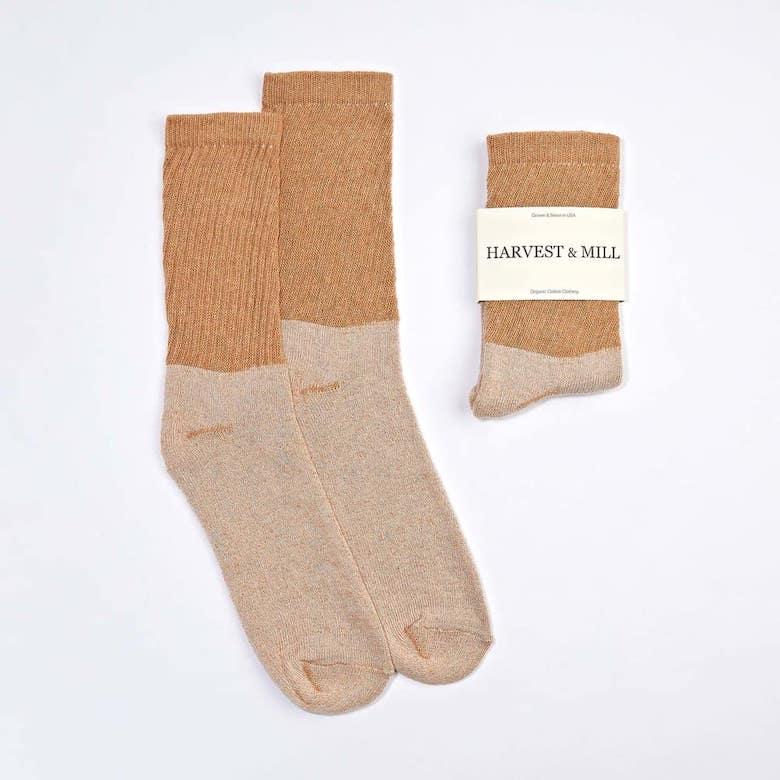 harvest and mill fair trade socks