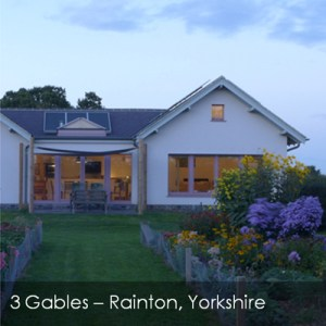passive house in Yorkshire