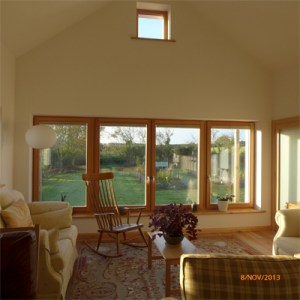 tripe glazed passivhaus