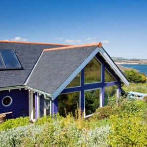 North Queensferry Eco House Firth of Forth Scotland