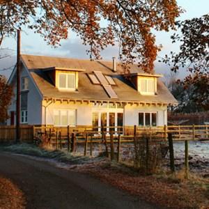 self build eco house