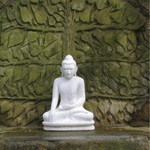 Harnham Buddhist Monastery Garden Buddha Northumberland
