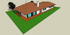 Projecto de Arquitectura Bioclimática - Vivenda 1