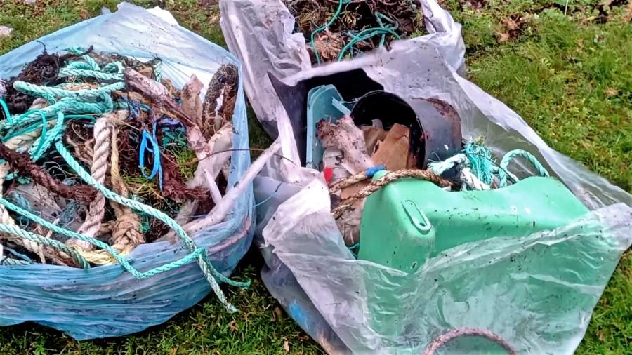 #4 – Nettoyage au Loch Hourm – Ecosse