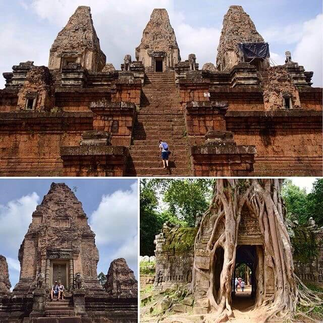 A selection of temples around Angkor Wat