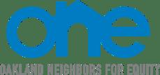 Oakland Neighbors for Equity (ONE) logo