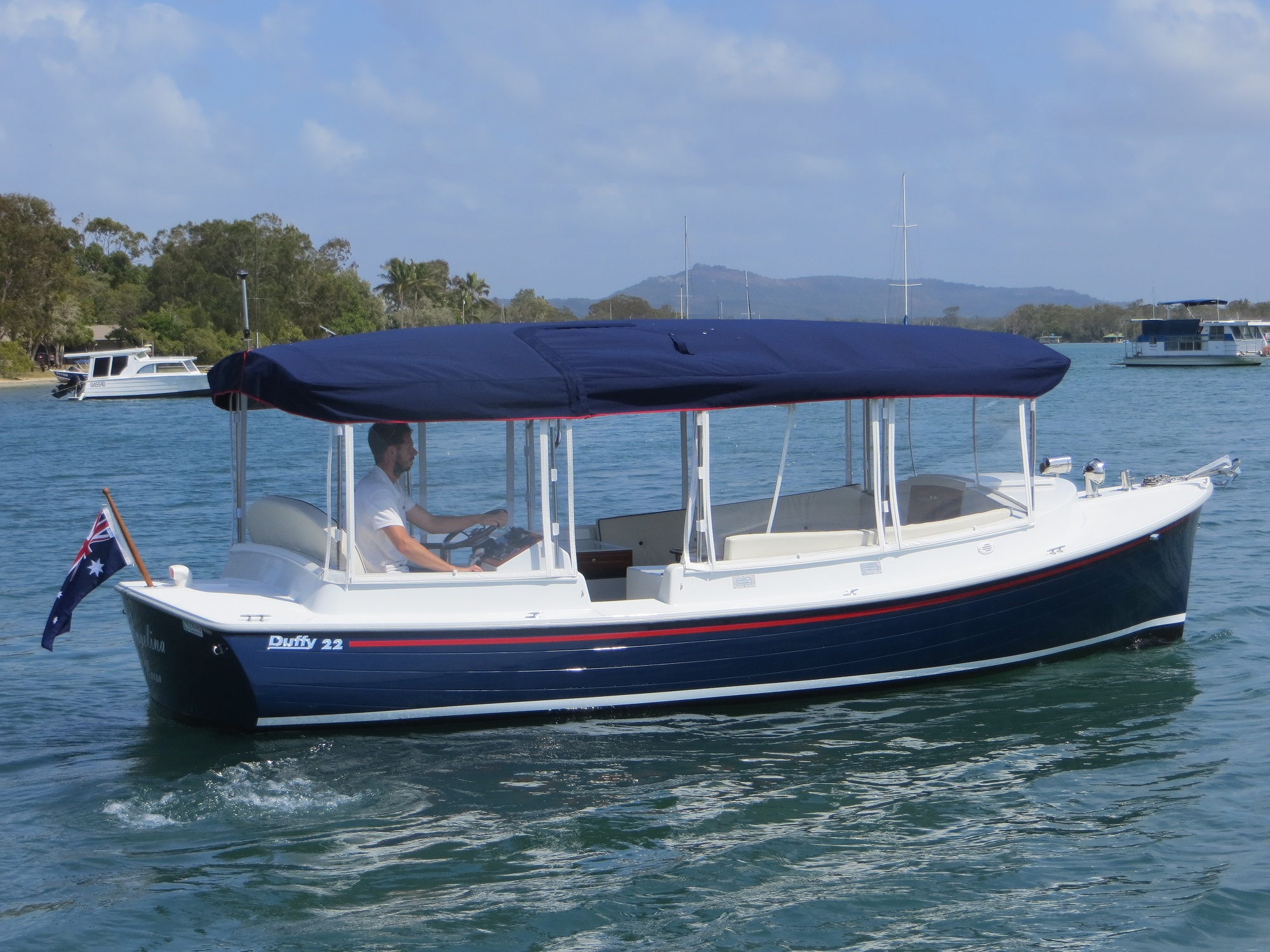 Another Electric Boat Launches In Noosa Eco Boats Australia
