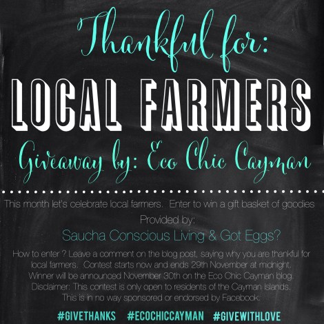 thankful for local farmers giveaway