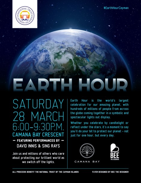 National Trust - Flyer (Earth Hour) '15