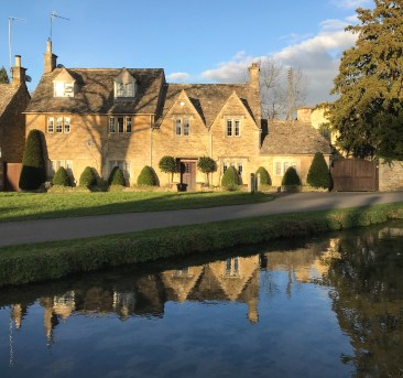 Lower Slaughter in the evening sun