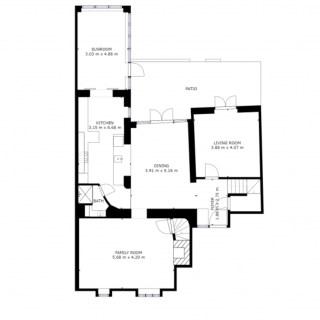 The Chestnuts ground floor plan