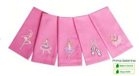 Fabkins cloth napkins for kids