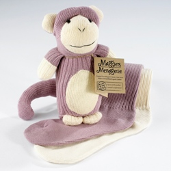 Maggie\'s Organics Organic Sock Monkey
