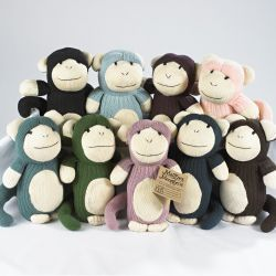 Maggie\'s Menagerie of sock monkeys