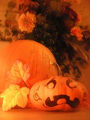 Natural Halloween Decor