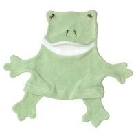 Under the Nile fair trade, organic cotton frog wash cloth