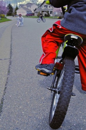 childhood bike-related injuries second only to cars