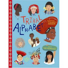 Tribal Alphabet multicultural book of indigenous people for children