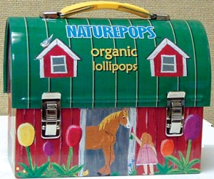 Mini Lunchbox tin full of NATUREPOPS