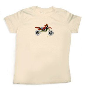 motorcycle t-shirt from Little Chickie Wear