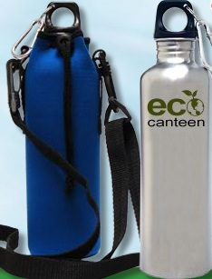 Eco Canteens are an affordable stainless steel water bottle